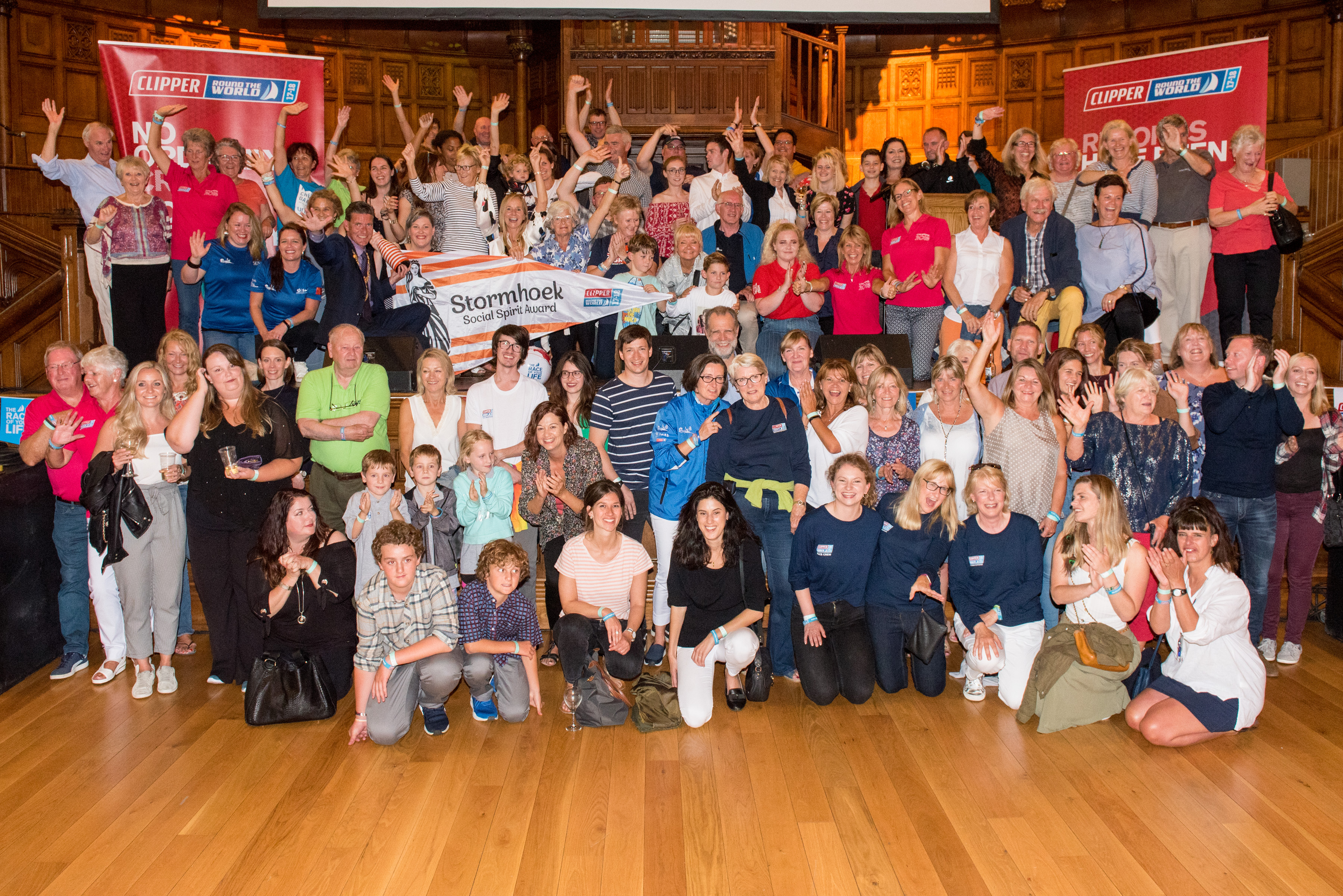 Supporters Steal the Show at LegenDerry Prize Giving