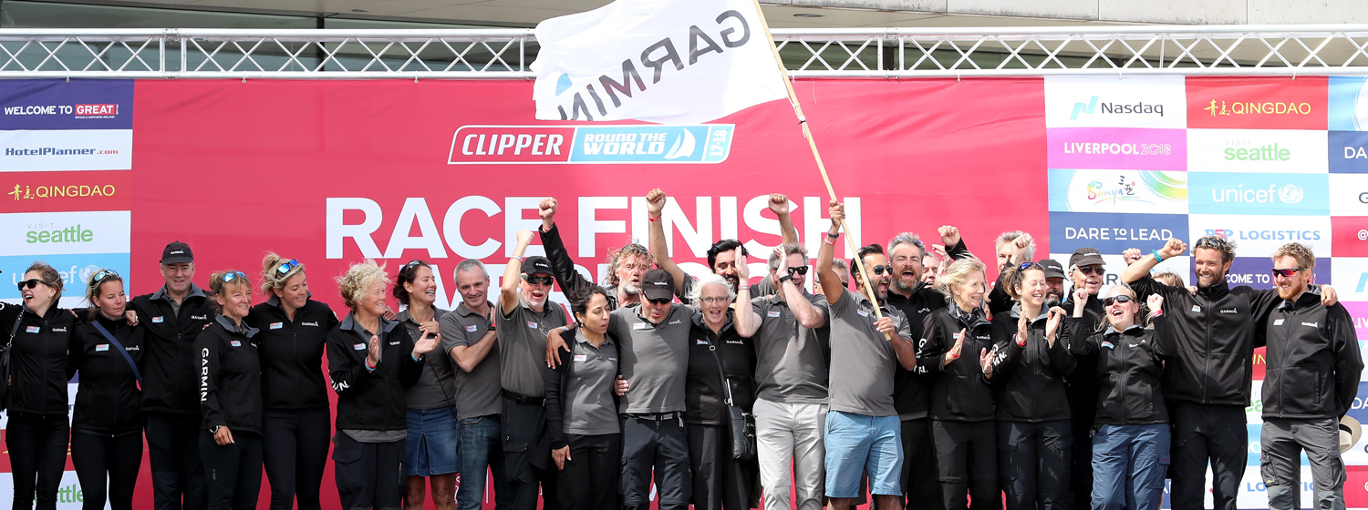 Garmin finishes fourth overall in the Clipper 2017-18 Race