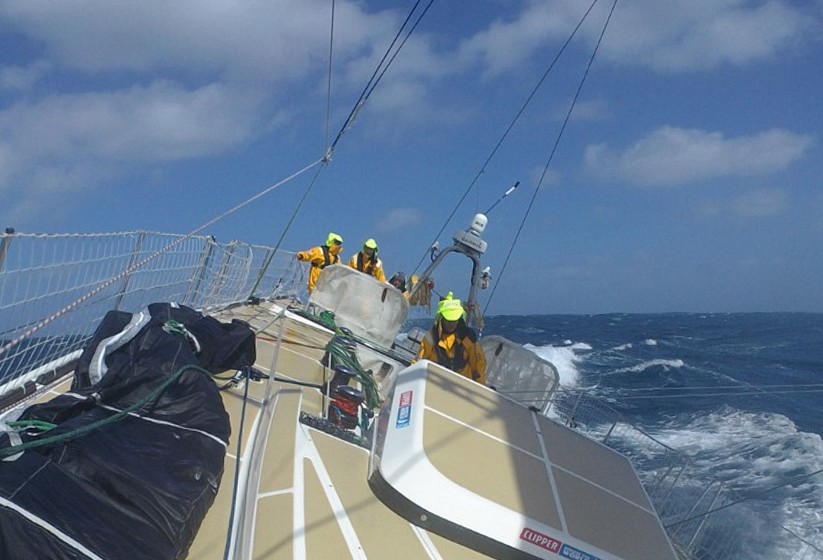 Race 3 Day 14: Hide and Seek in the South Atlantic