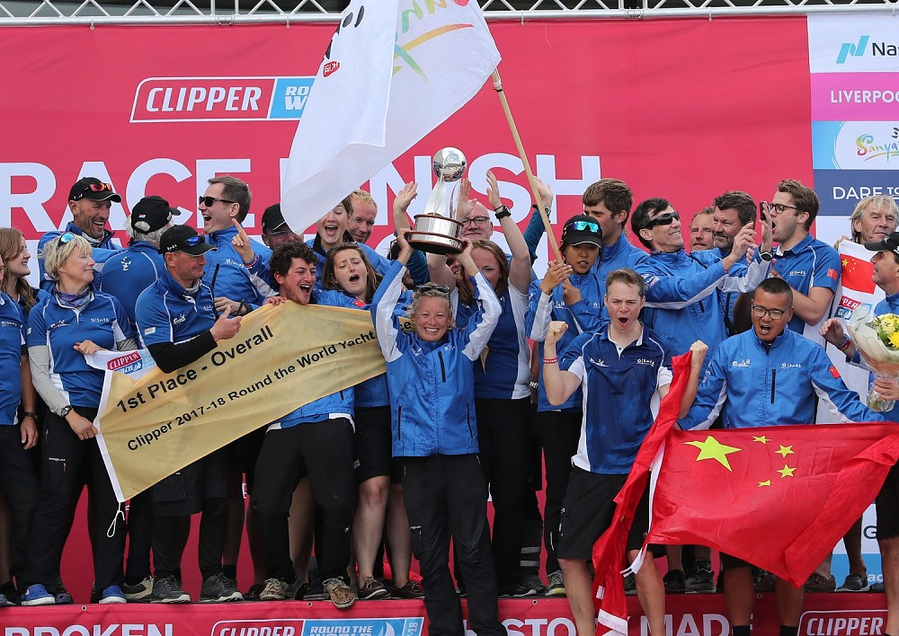 Sanya Serenity Coast - Winners 2017-18 Clipper Race