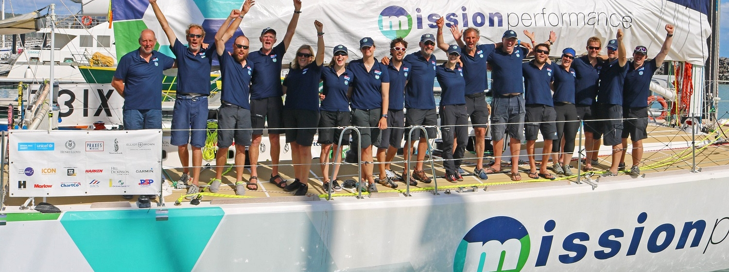 Mission Performance arrives in Airlie Beach