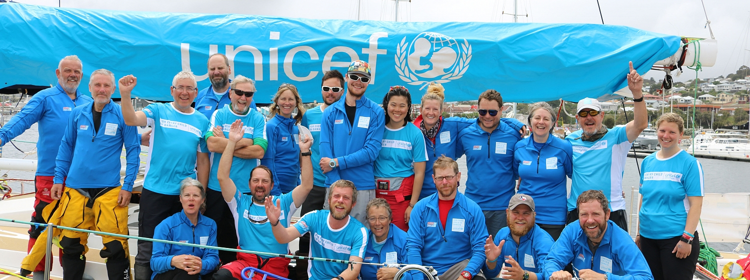 UNICEF COMPLETES SOUTHERN OCEAN CHALLENGE