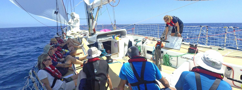 Ineke on board Nasdaq gives team briefing