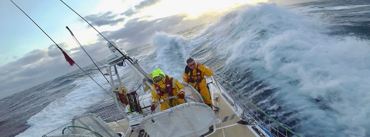The race across the North Pacific is nicknamed 'The Big One'