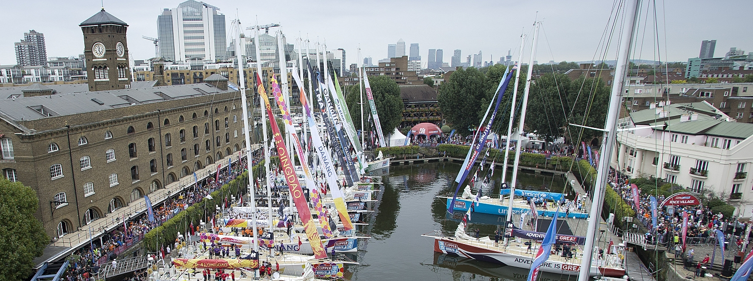 London's St.Katharine Docks confirmed as Race Start Partner for Clipper 2019-20 Race