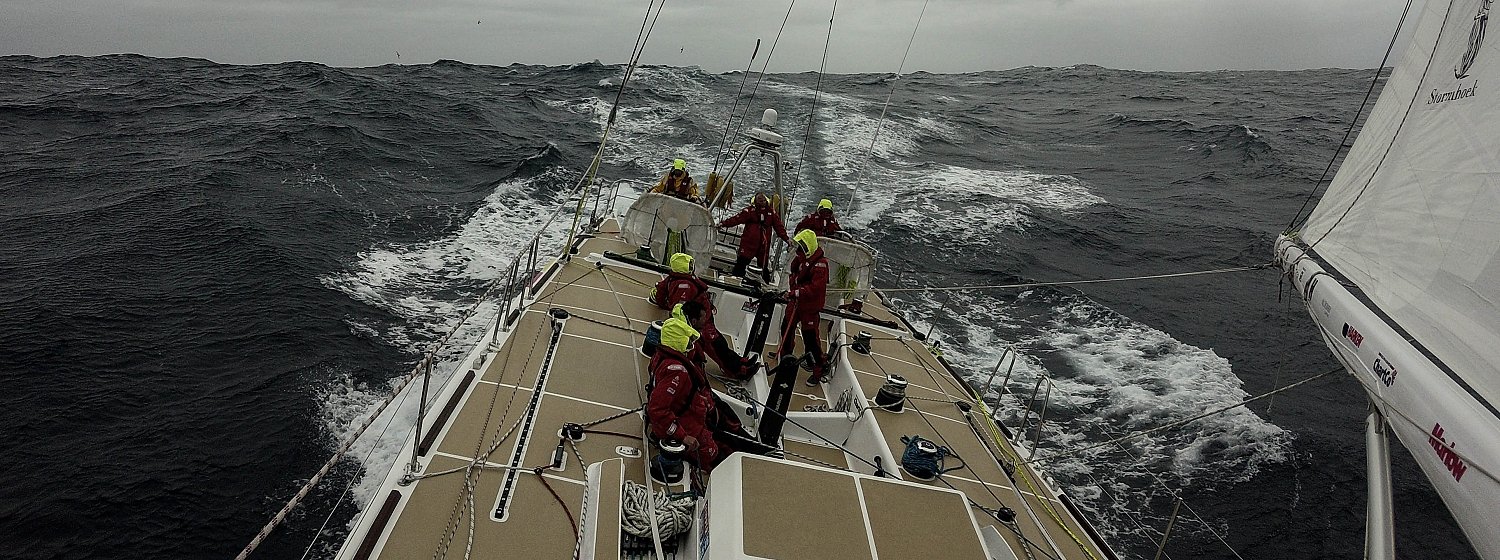 ​Race 2 Day 16: Wind shifts keep remaining teams focused on finish