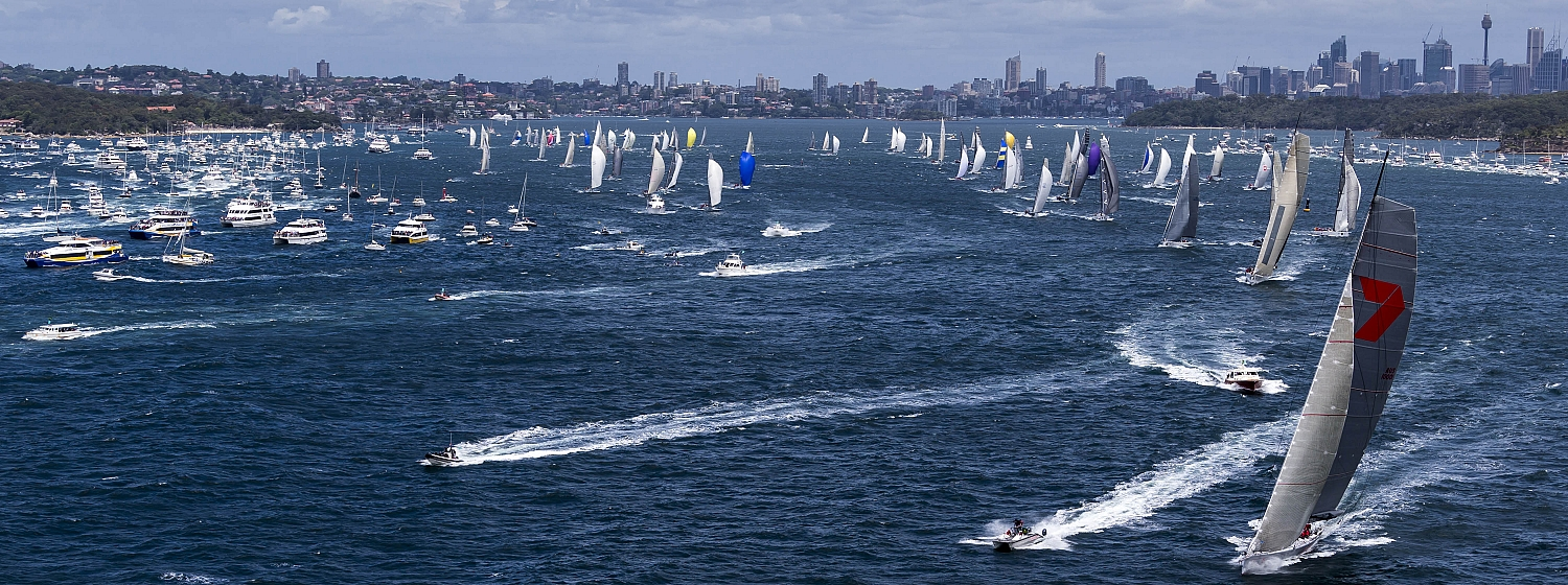 Clipper Race fleet and Sir Robin Knox-Johnston officially entered in Rolex Sydney Hobart Race 2015