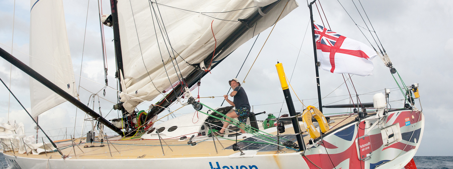 Bid for Sir Robin's Route du Rhum shorts