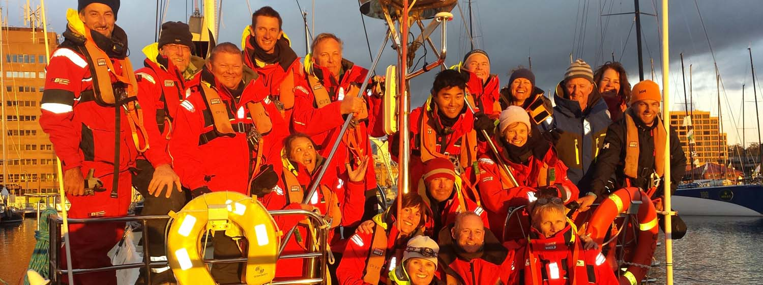 Clipper Ventures 10 has finished the Rolex Sydney Hobart Yacht Race