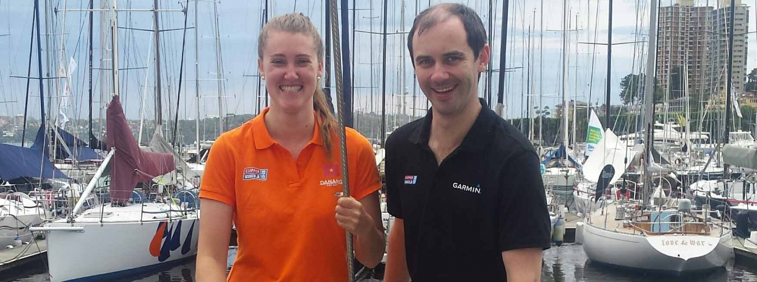 Clipper Race cousins re-trace family roots