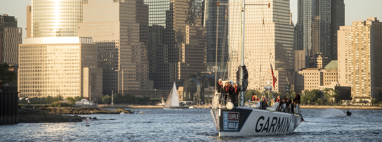 Garmin team arriving in New York