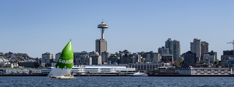 Seattle kite shoot