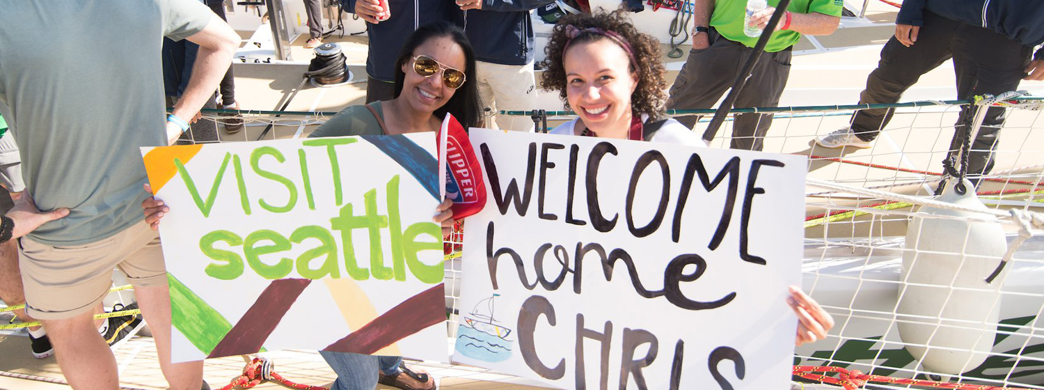 A warm welcome home for New York Local Chris Goodwin