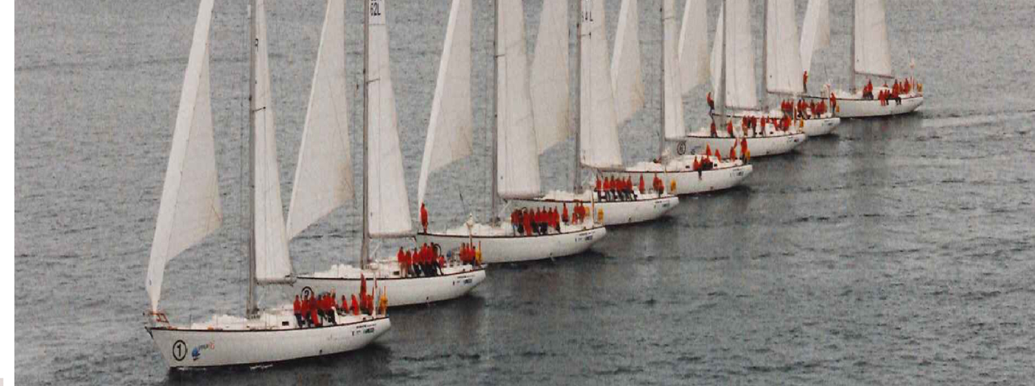 The Clipper 1996 Race fleet