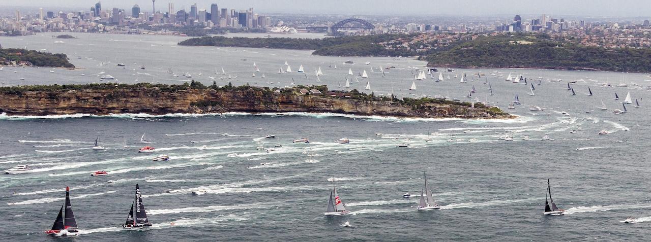 The Rolex Sydney Hobart Yacht Race starts 26 December