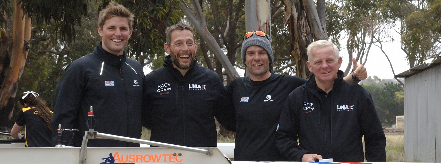 Surfing, rowing and rugby for crew on Albany stopover