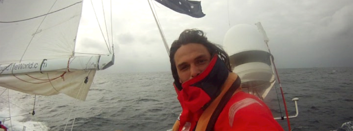 Alex Laline in Australia for Clipper Race training