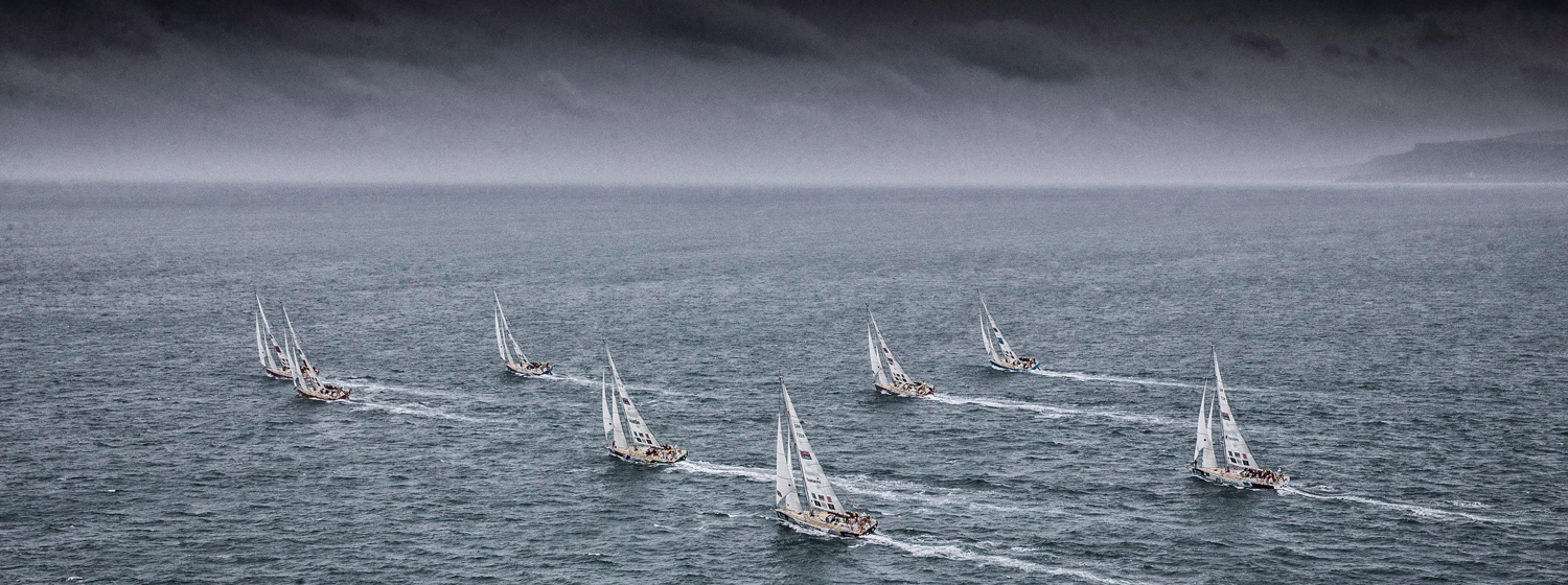 Clipper 2017-18 Race Fleet. Copyright Clipper Race / Matt Dickens / OnEdition