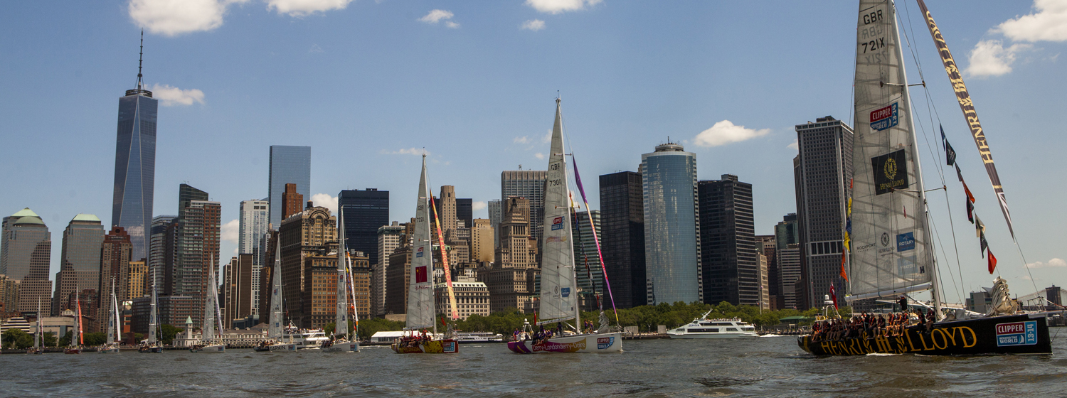 Clipper 2013-14 Race in New York