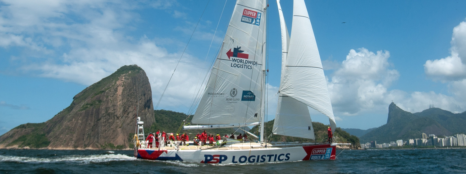 PSP Logistics arrives in Rio de Janeiro, Brazil after crossing the Atlantic Ocean