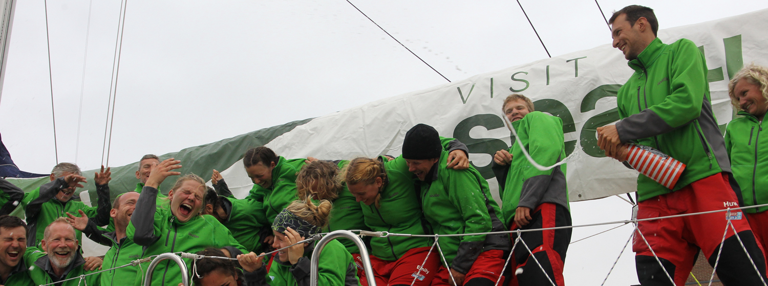 Visit Seattle wins Race 13, the Den Helder North Seas Challenge