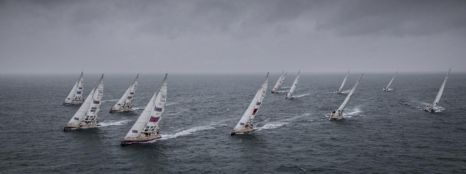 The Clipper Race Fleet Descend on Punta del Este, Uruguay