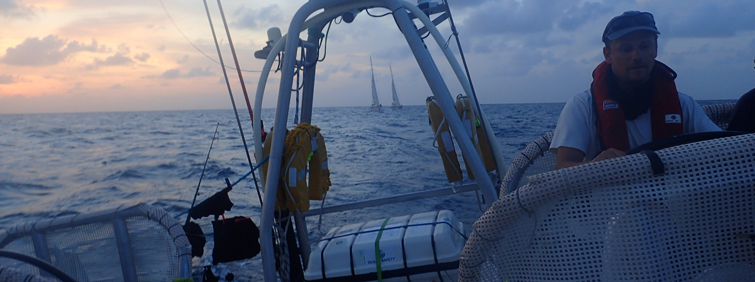 ​Race 11 Day 1: Quick off the mark as Trade Winds power fleet along