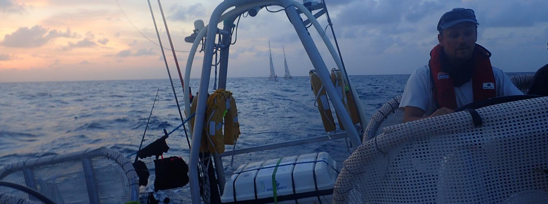Race 11 Day 1: Quick off the mark as Trade Winds power fleet along