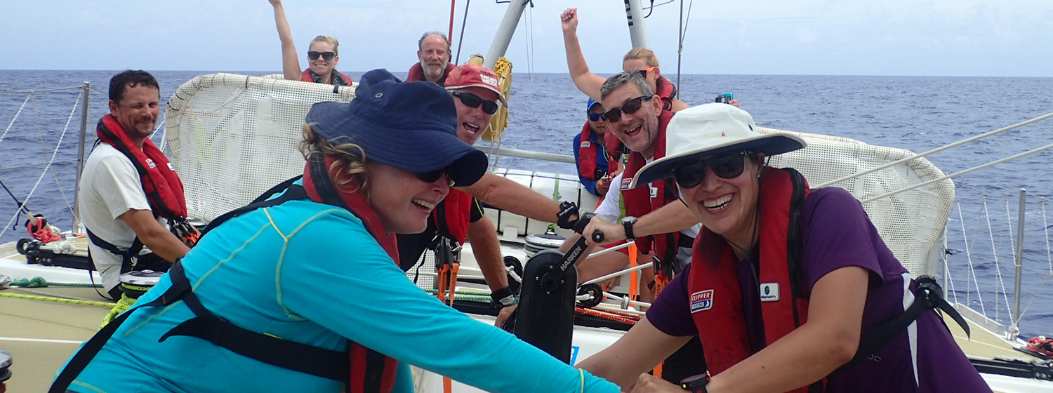 ​Race 11 day 5: Garmin victorious at Scoring Gate, claiming three points