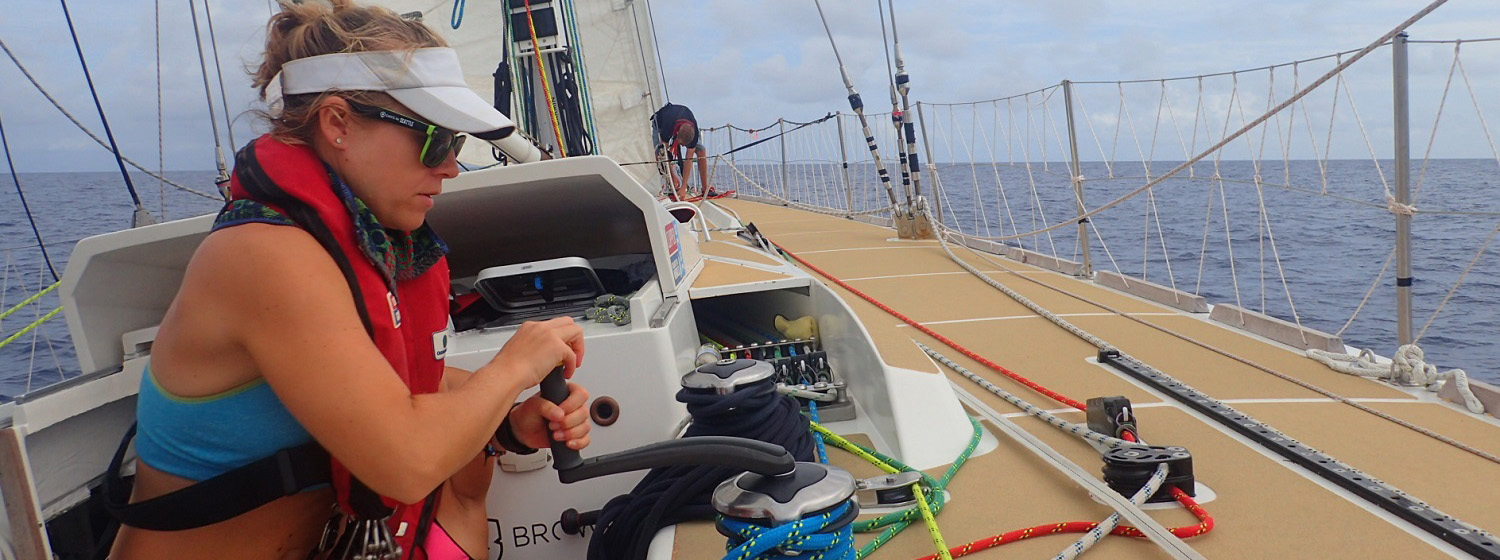 ​Race 11 Day 6: Garmin maintains narrow lead over ClipperTelemed+ approaching Ocean Sprint