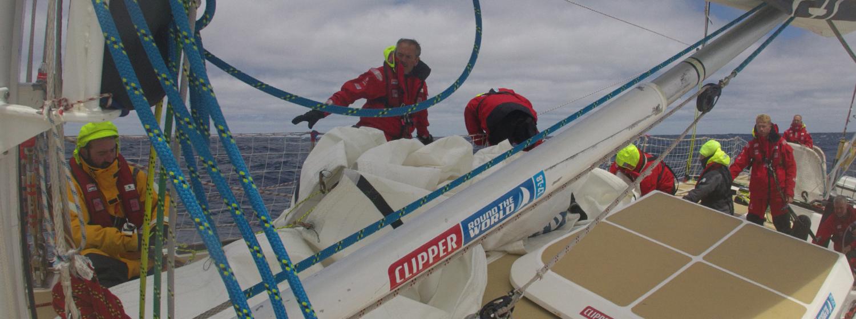 Sail change on board Nasdaq