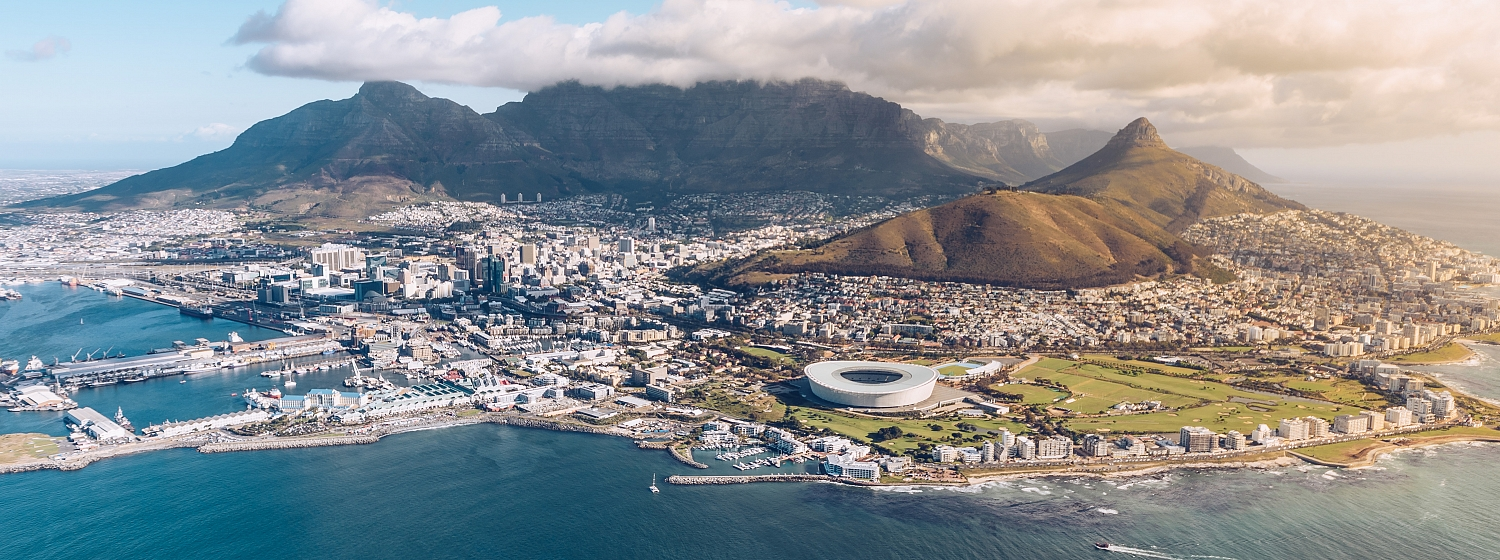 Clipper Race fleet in Cape Town