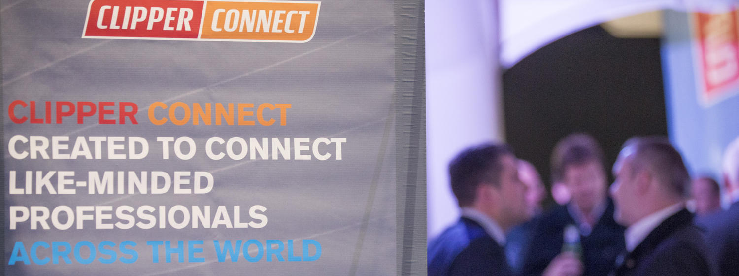 Clipper Connect networking event at the London Boat Show