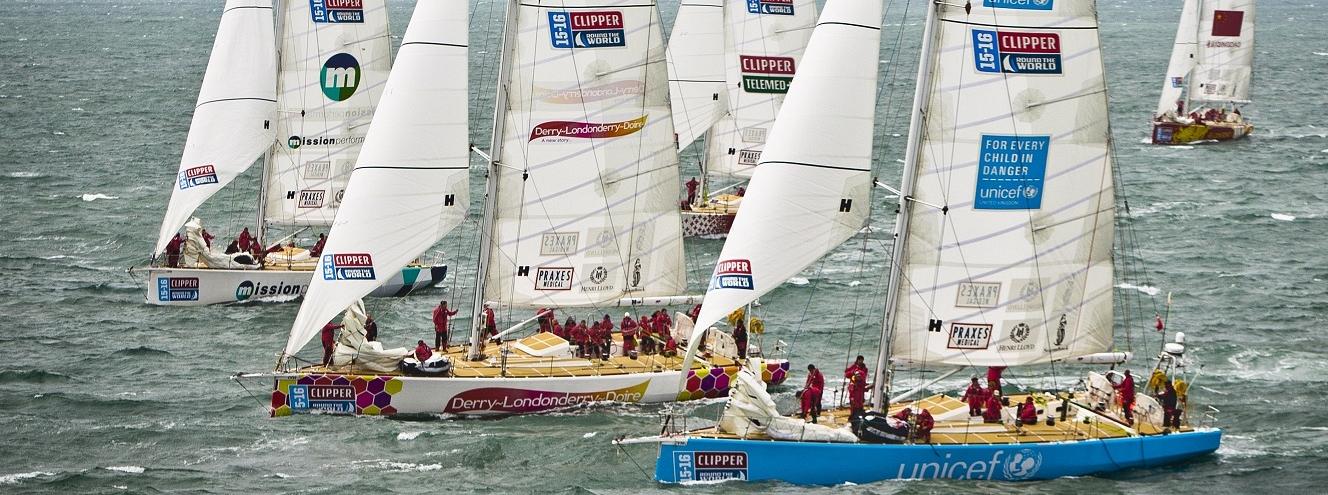 The Unicef Clipper Race yacht