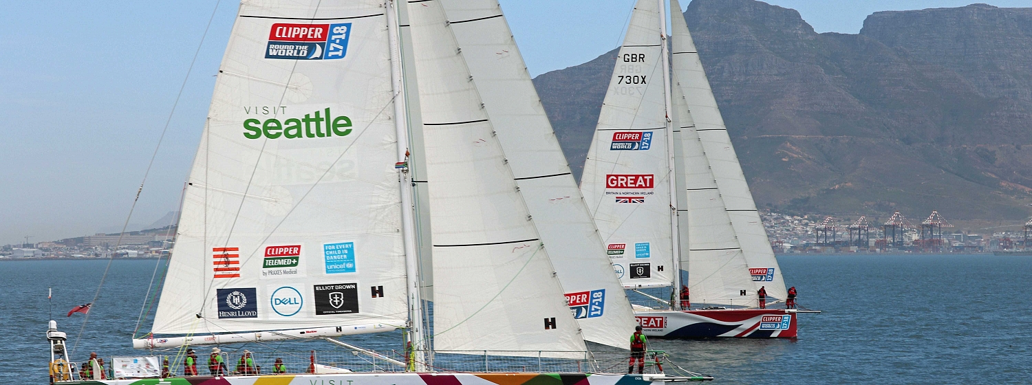 ​Cape Town to Host Global Sailing Race as Seattle Revealed as Team Entry