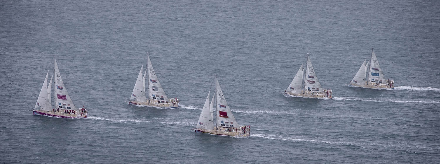 Round The Island Race - Clipper Race Fleet