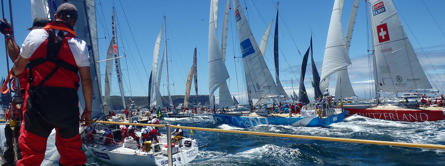 The chance to compete against some of the world's top sailors in the RSHYR was the highlight for many Clipper Race crew in 2014