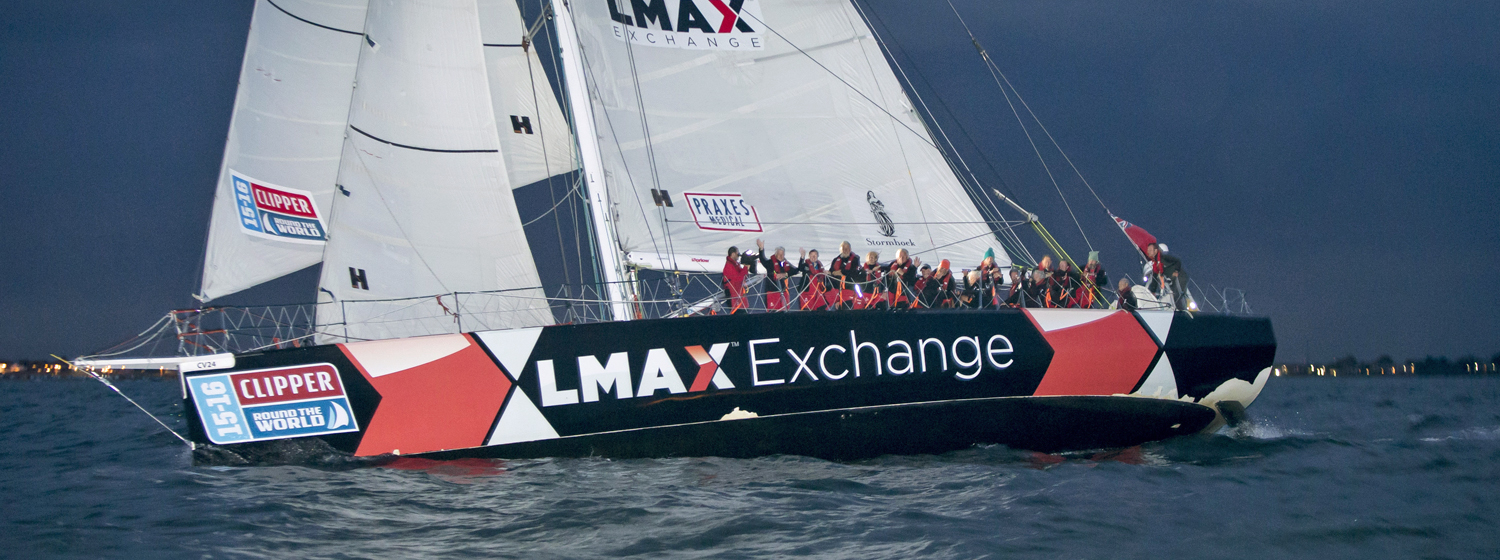 ​LMAX Exchange wins the Clipper 2015-16 Race title
