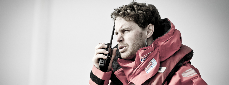 Clipper 2017-18 Race Skipper Conall Morrison