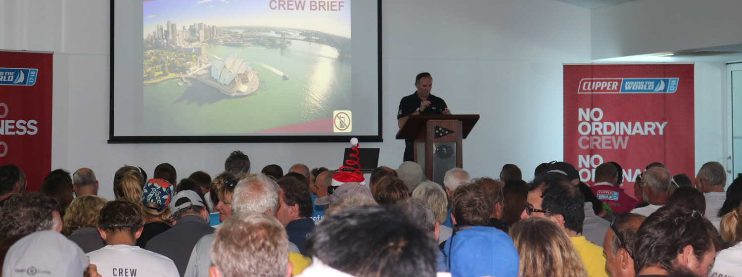 Crew Brief - Mark Light