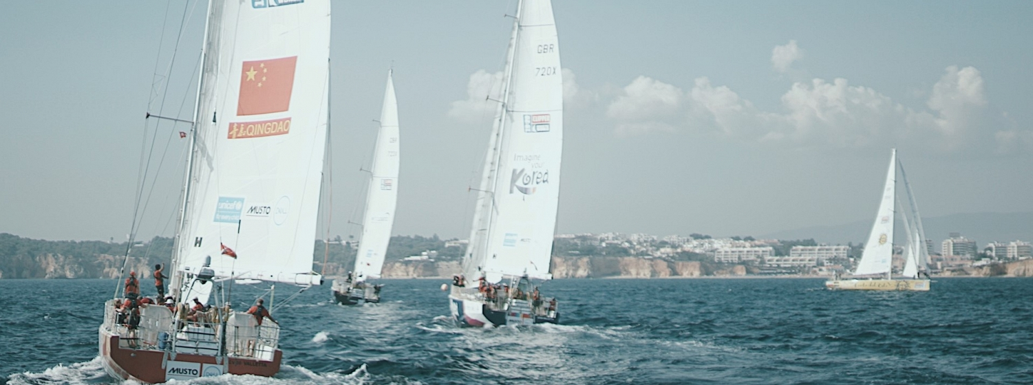 Race 2 Start from the Visit Sanya, China yacht