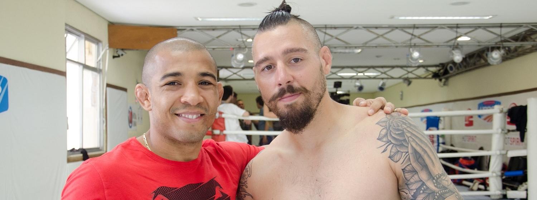Dan Hardy and Jose Aldo