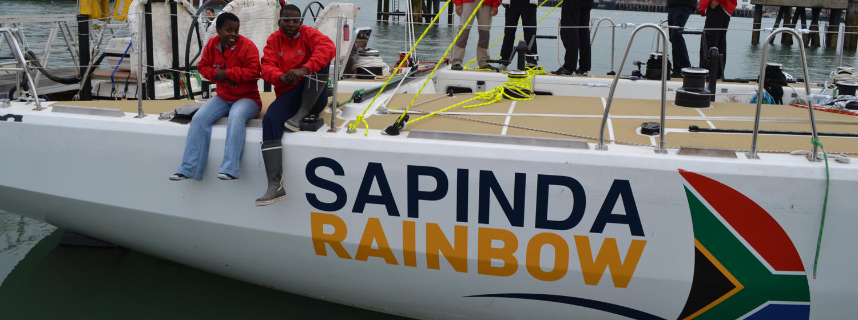 Zanele Mweni and Sakhile 'The King' Khulekani Makhanya on board IchorCoal