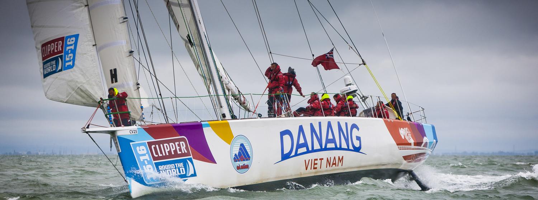 The Da Nang - Vietnam team yacht