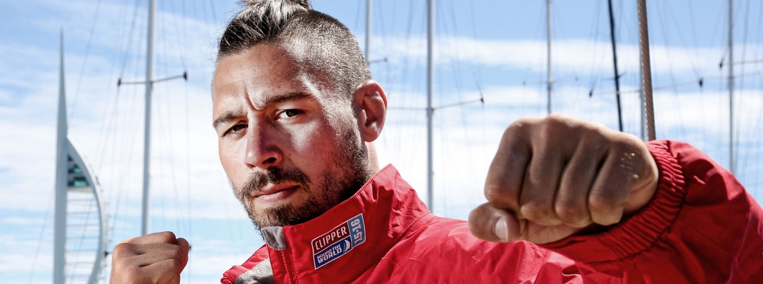 Former UFC fighter and commentator Dan Hardy is racing across the Atlantic Ocean in Leg 1 of the Clipper 2015-16 Race