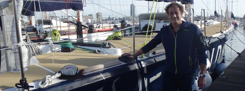 Clipper 2015-16 Race crew member, Edwin van Emmerik