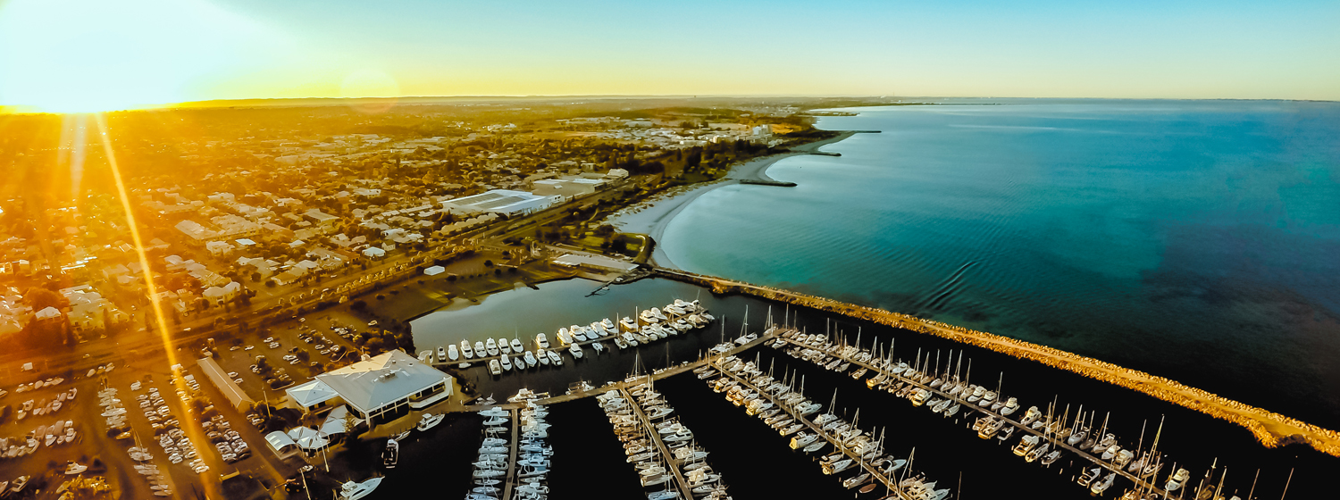 Aerial View of Fremantle Sailing Club