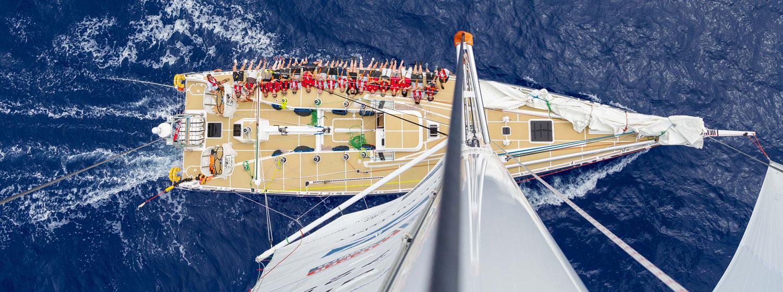 Tour an ocean racing yacht, Punta del Este