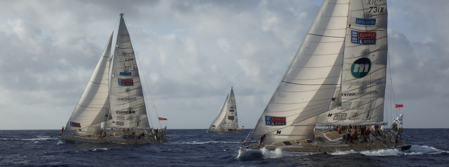 ​Race 11 Day 2: Neck and neck in fight to clear Windward Passage