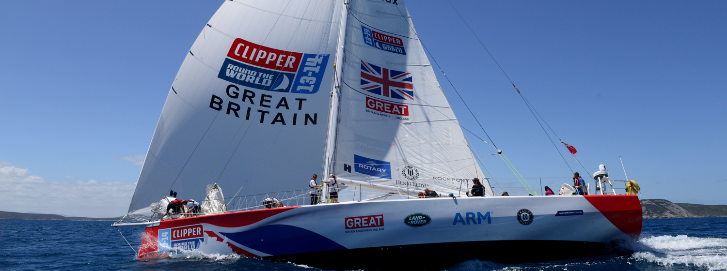 GREAT Britain brand team during the Clipper 2013-14 Race